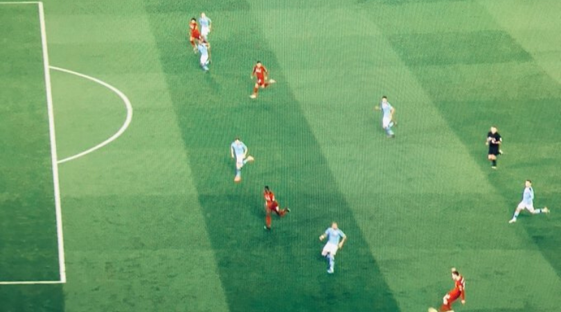 Was Mohamed Salah offside while scoring vs Man City