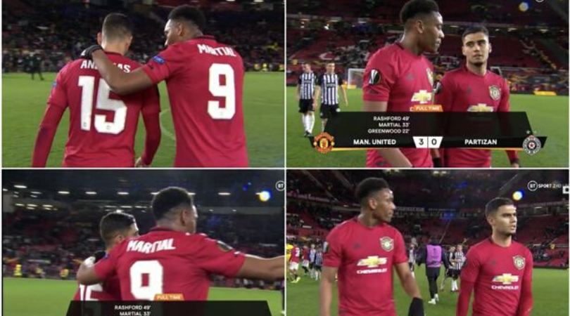 Watch A fan hilariously dubs over the conversation between Anthony Martial and Andreas Pereira