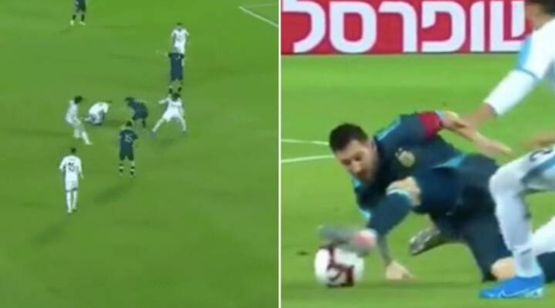 Watch Lionel Messi dribbles past 8 players during Argentina vs Uruguay