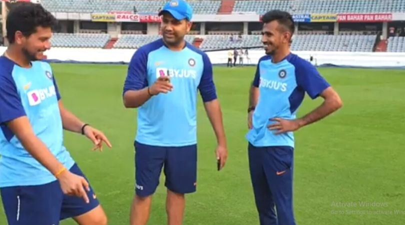 WATCH: Yuzvendra Chahal fears bowling to Rohit Sharma in Indian Premier League