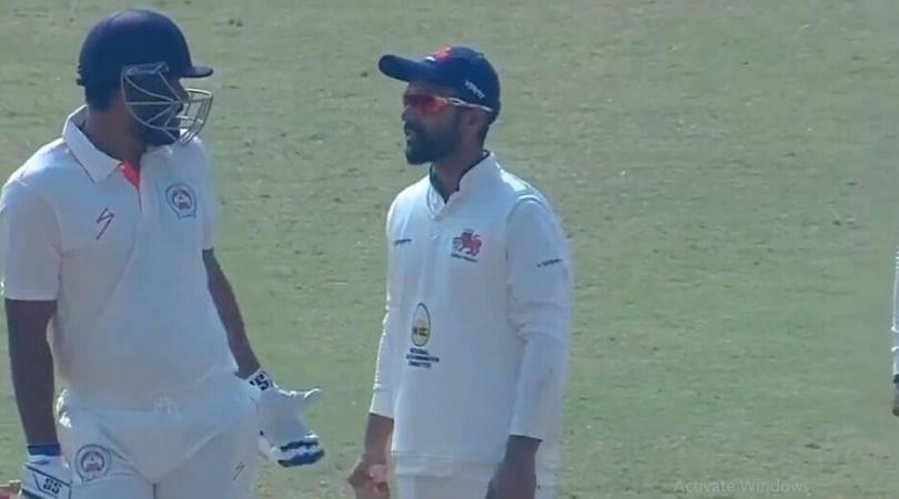 WATCH: Yusuf Pathan refuses to walk despite umpire rules him out; Ajinkya Rahane and Aditya Tare interfere