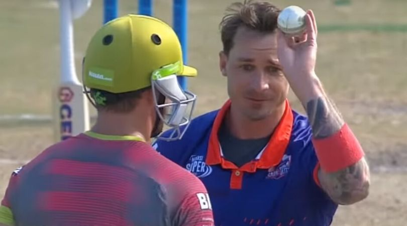 WATCH: AB de Villiers and Dale Steyn involved in hilarious confrontation in Mzansi Super League