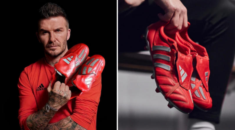 Adidas release striking remakes of iconic Red Predator Mania