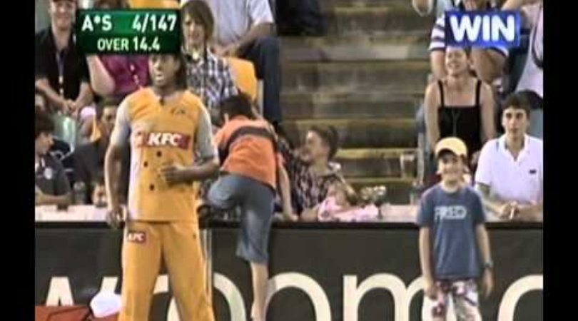 Andrew Symonds once allowed two kids to field in a match