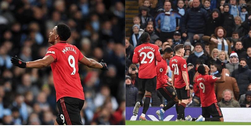 Anthony Martial scores a scintillating goal as Man Utd shreds Man City