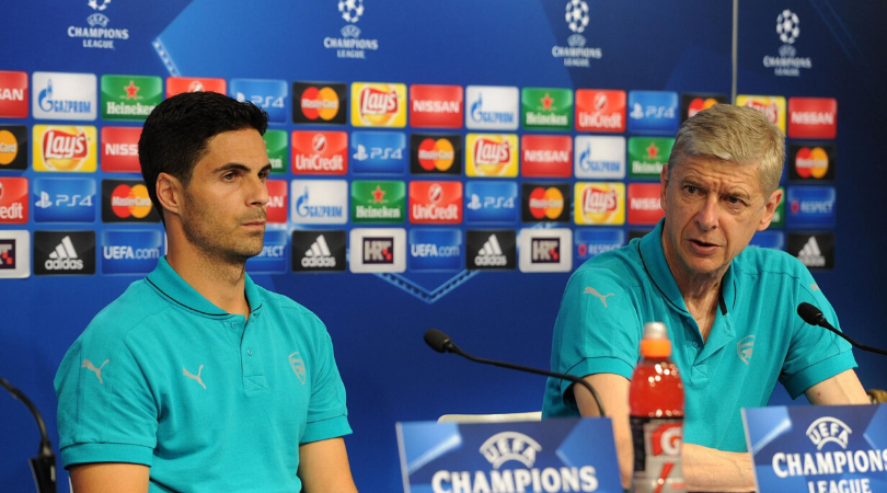 Arsene Wenger opens up on the possibility of Mikel Arteta's appointment as new Arsenal manager