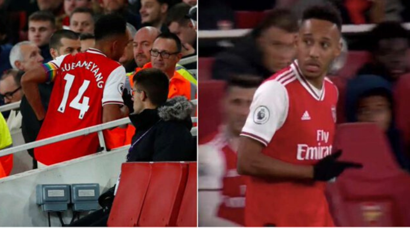Aubameyang left pitch for toilet break while Arsenal were losing vs Brighton