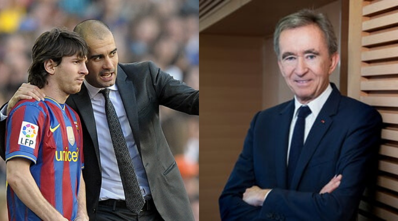 Bernard Arnault of Louis Vuitton wants to buy AC Milan and reunite Messi and Guardiola