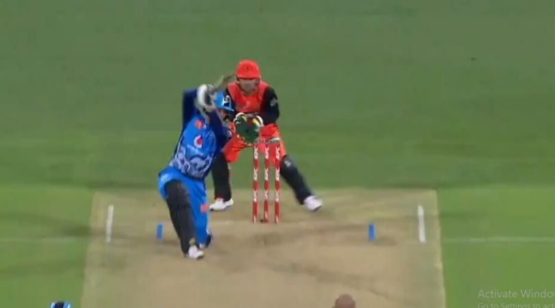 Alex Carey in IPL 2020: Watch Delhi Capitals wicket-keeper batsman's cover drives goes for six in BBL 2019 match