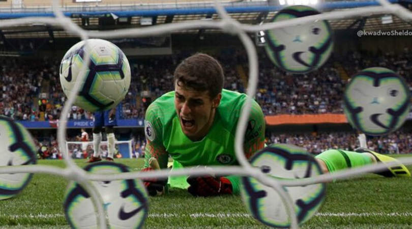 Chelsea gift 3rd goal to Everton after comedy of errors from Kepa