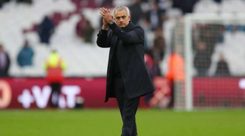 Daniel Levy suggests that Jose Mourinho's stay at Tottenham could be a short one
