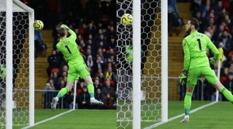 David De Gea error Manchester United go down to Watford after De Gea's disastrous fumble