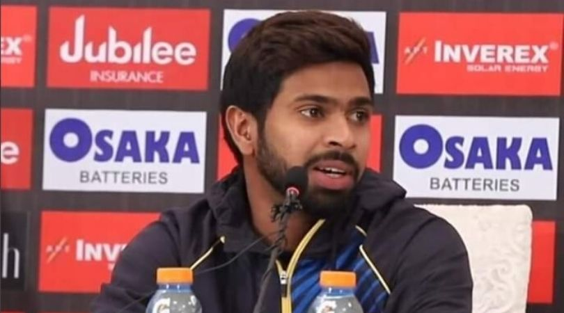 WATCH: Niroshan Dickwella's hilarious reply on being mistaken as Dhananjaya de Silva during presser