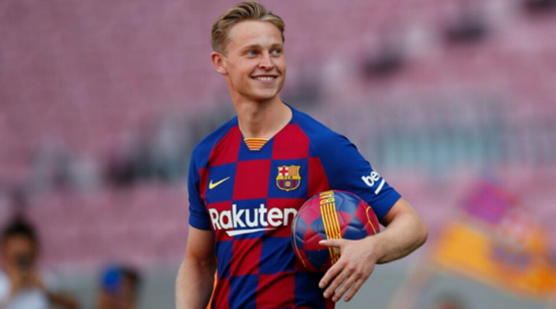 Frenkie De Jong hints regret at moving to Barcelona instead of Man City