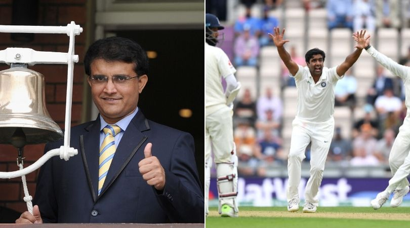 """""""Goes unnoticed at times"""": Sourav Ganguly lauds Ravi Ashwin's performance in this decade"""