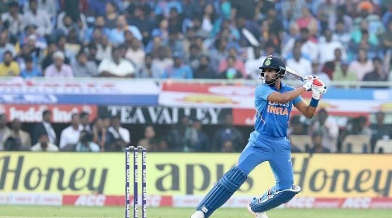 WATCH: Shreyas Iyer scores 31 runs off Roston Chase over in Visakhapatnam