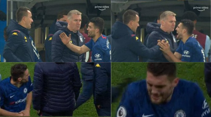 John Terry makes Mateo Kovacic regret his decision to shake hands with him