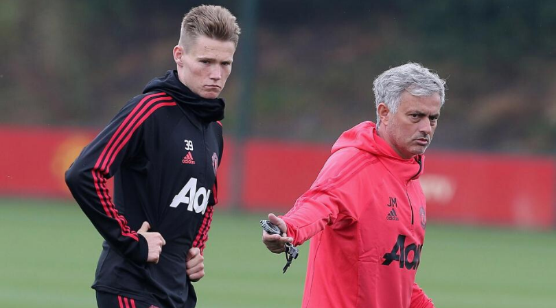 Jose Mourinho claims that Scott McTominay is Man Utd's best player because of him