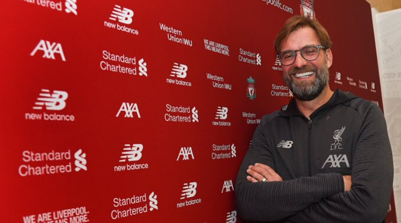 Jurgen Klopp has signed a new 5-year contract that will keep him at Liverpool until 2024