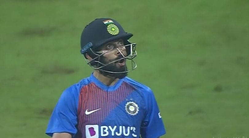 WATCH: Virat Kohli wins battle against Kesrick Williams in Mumbai T20I