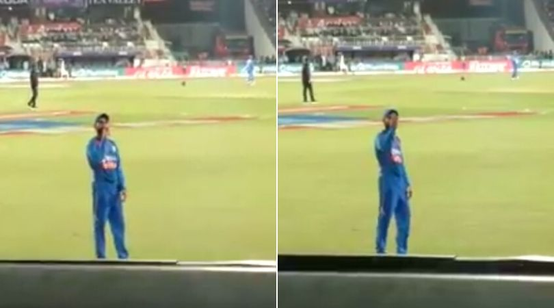 WATCH: Virat Kohli unhappy with spectators as they cheer 'Sanju Sanju' after Rishabh Pant drops Evin Lewis