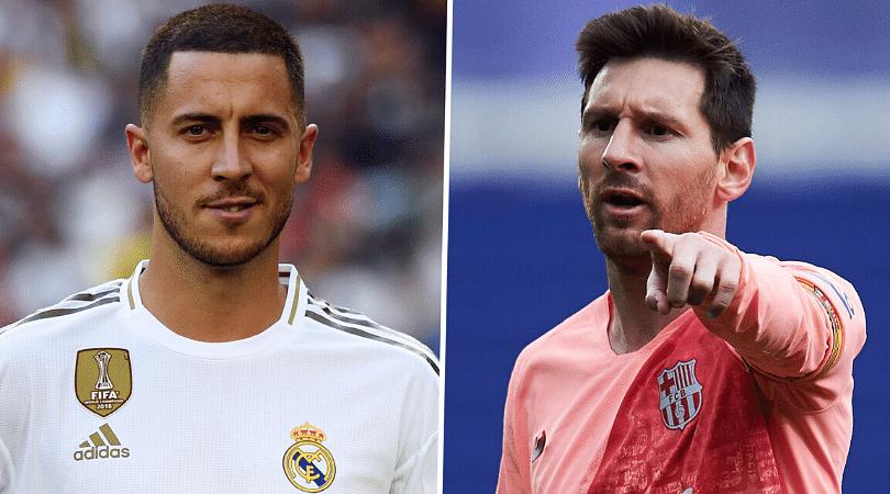 Lionel Messi speaks on Eden Hazard replacing Cristiano Ronaldo ahead of the EL Clasico