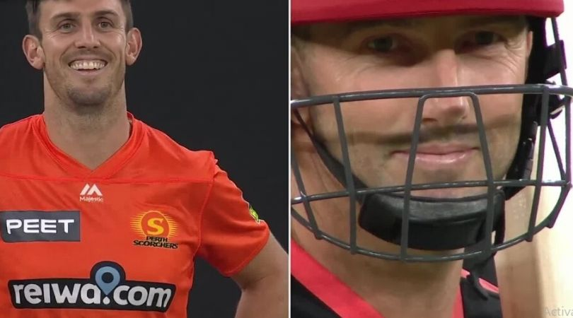 Mitchell Marsh IPL 2020: Watch SRH all-rounder's face-off against brother Shaun Marsh in BBL 2019