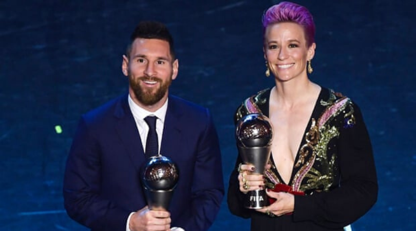 Megan Rapinoe demands Messi, Ronaldo and Ibrahimovic to speak out against sexism