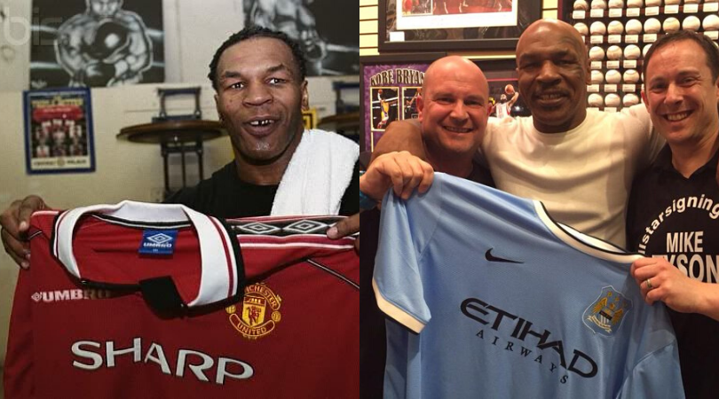 Mike Tyson once claimed he had never heard of Manchester City