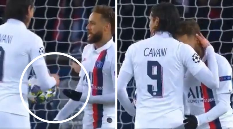 Neymar earns praise after gifting penalty to Edinson Cavani