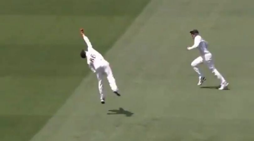 WATCH: Henry Nicholls grabs outstanding catch to dismiss Steve Smith off Neil Wagner at MCG