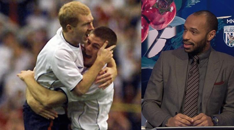 Paul Scholes or Steven Gerrard Thierry Henry explains his choice