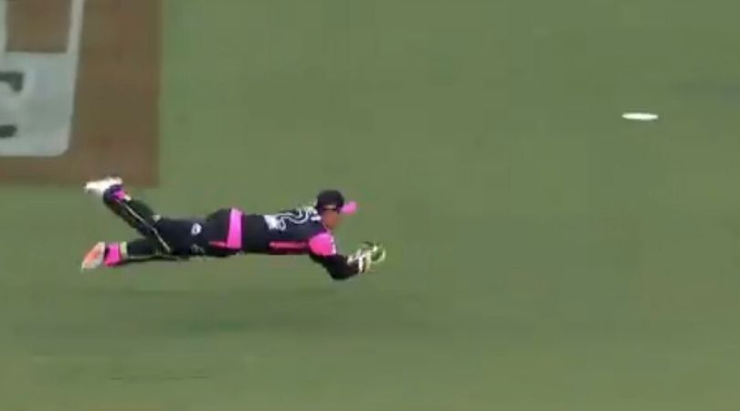 Josh Philippe catch vs Scorchers: Watch Sixers wicket-keeper dives full length to dismiss Liam Livingstone in BBL 2019