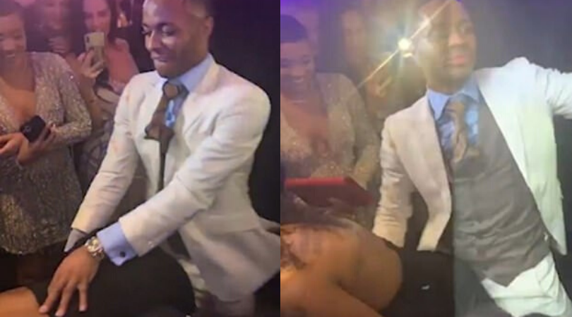 Raheem Sterling seen having a little too much fun with another woman on his birthday