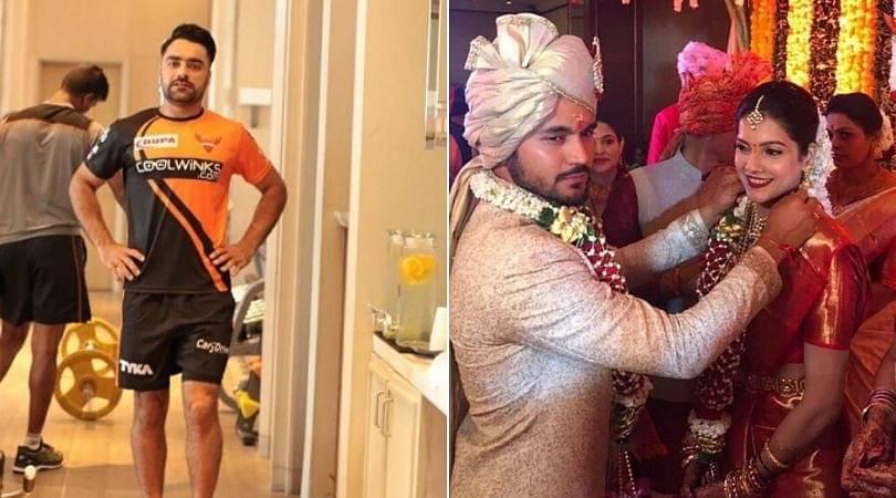 Manish Pandey wedding: Rashid Khan hilariously taunts Indian batsman for not inviting him to his marriage
