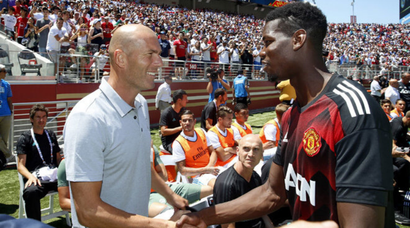 Real Madrid have told Paul Pogba that they will not buy him in January