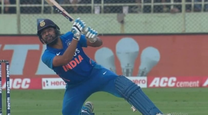 WATCH: Rohit Sharma hits incredible off-balance six off Jason Holder in Visakhapatnam