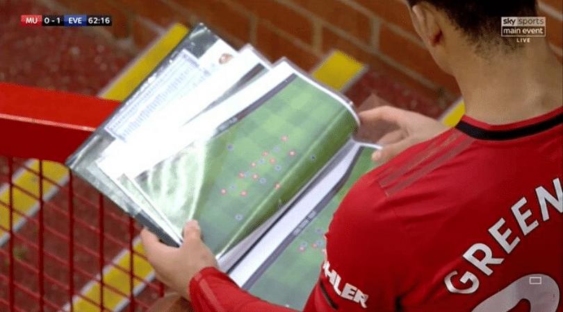 Sky Sports Cameras revealed Manchester United's tactics on Live TV during Man Utd vs Everton