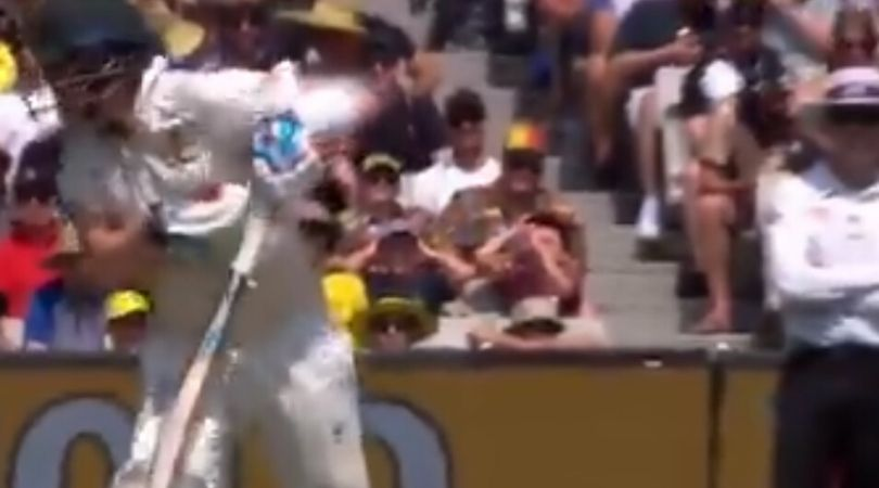WATCH: Steve Smith nearly catches himself off Neil Wagner's lethal bouncer at MCG