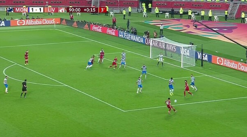 Trent Alexander-Arnold exhibits impeccable vision with pin point assist for Liverpool in the Club World Cup