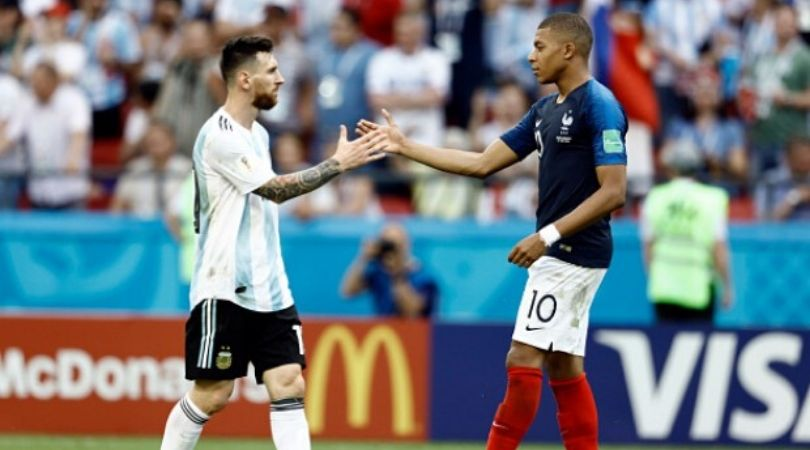 Kylian Mbappe amazed to know Lionel Messi monitored him during European golden shoe race