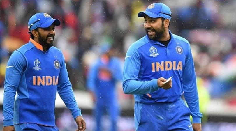 Rohit Sharma funnily taunts Kedar Jadhav for his pose with bat on Social Media