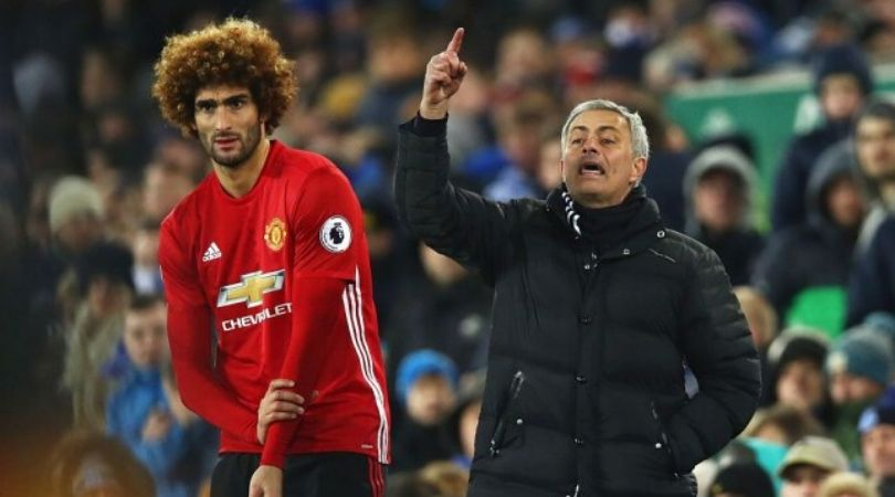 Jose Mourinho contacts with Marouane Fellaini to convince him to join Tottenham Hotspur in January