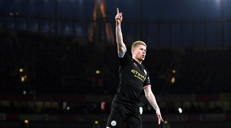 Kevin De Bruyne goal Vs Arsenal: Manchester city star score stunner within the initial minutes of game