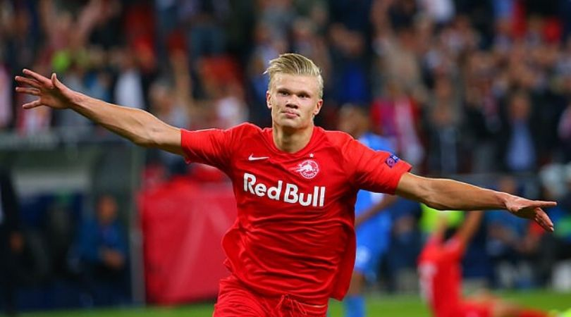 Erling Haaland givws his personal prediction against Liverpool in Champions League clash