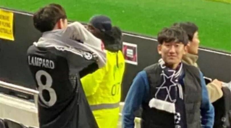 Fan abandons Son jersey only to wear Lampard's Chelsea jersey after Blues win 2-0