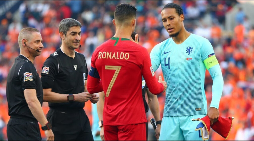 Virgil Van Dijk pays Twitter tribute to Cristiano Ronaldo after Ballon d'Or controversy