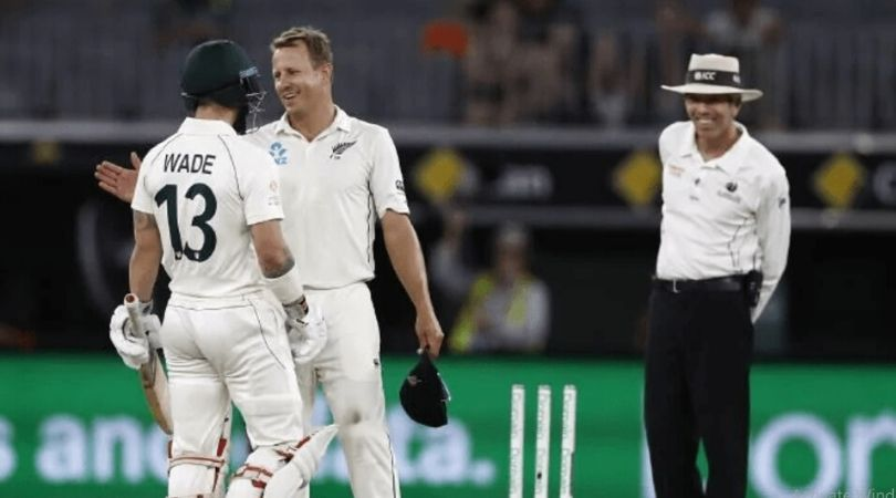 """""""Keep coming, big boy"""": Watch Matthew Wade sledges Neil Wagner amidst engrossing battle in Perth"""