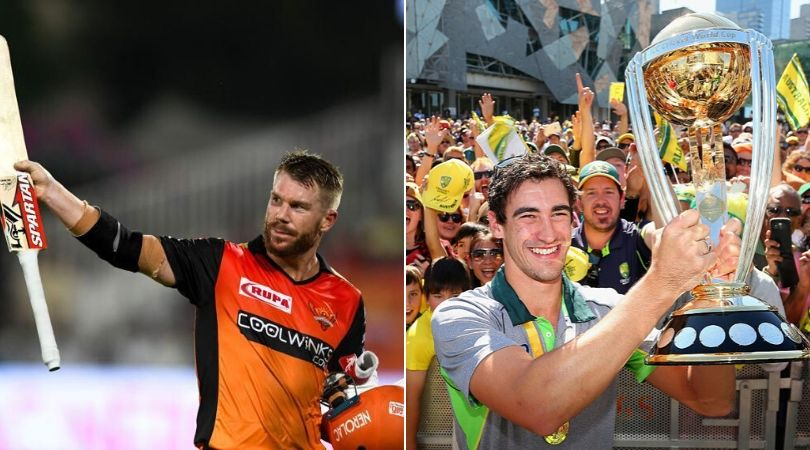 David Warner hints at SRH acquiring Mitchell Starc in the Indian Premier League