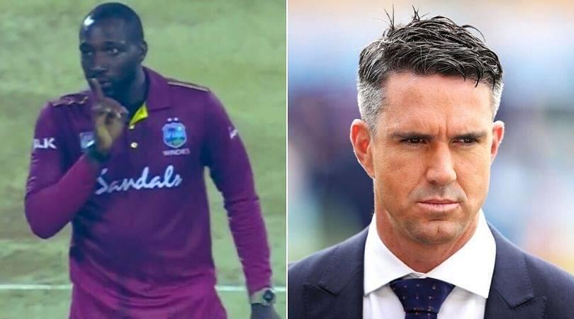 "Kesrick Williams responds to Kevin Pietersen's ""Not good enough"" statement"